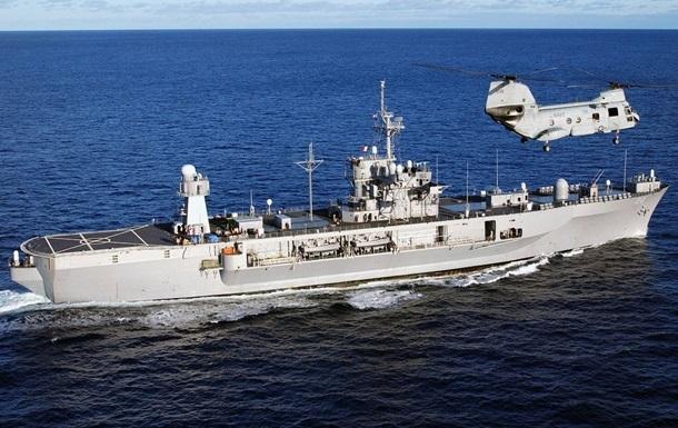 Корабли НАТО проводят учения в Черном море
