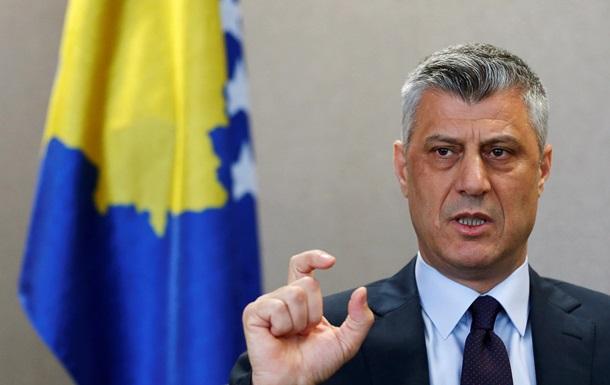 Косово вводит санкции против России
