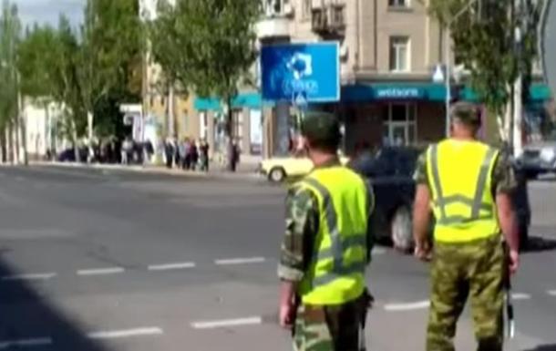 В Луганске сепаратисты взяли на себя роль гаишников