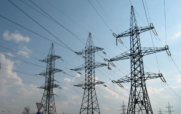 Украина вдвое сократила экспорт электроэнергии