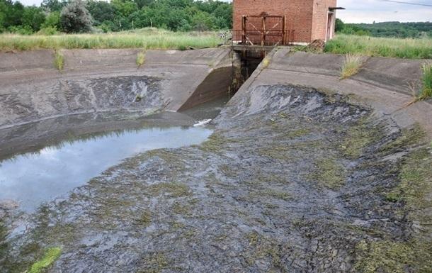 На Луганщине прекращается очистка воды из Северского Донца