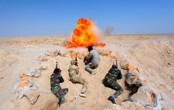 Франция начала бомбить позиции джихадистов в Ираке