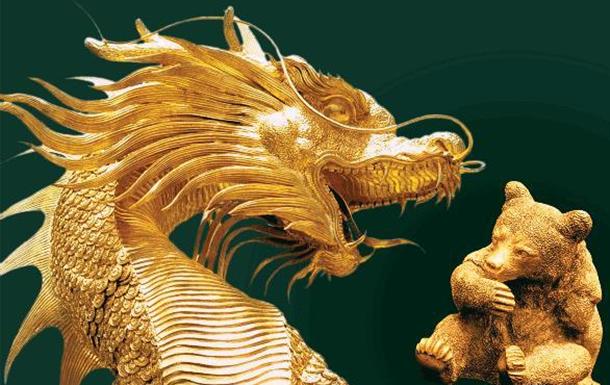 Китайский дракон против русского медведя