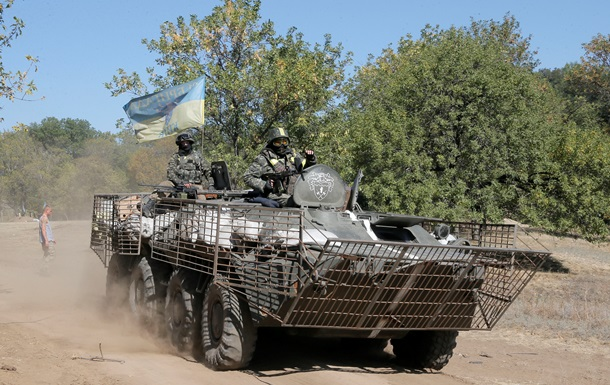 Силы АТО за минувшие сутки уничтожили около 20 сепаратистов и один  Град
