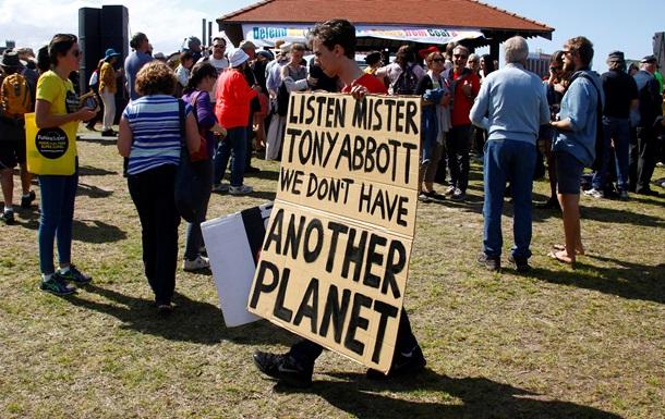 Экологи из 150 стран проводят марши в защиту глобального климата