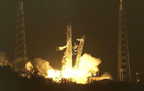 Dragon вылетел к МКС