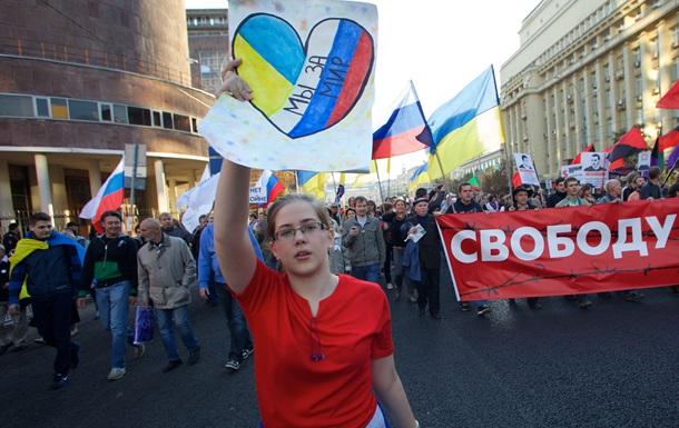 Московский марш  пятнадцати процентов . Репортаж DW