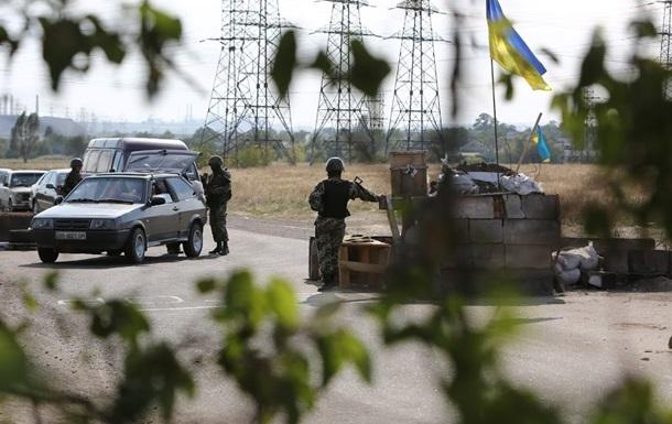 Украинские силовики готовятся к отводу вооружения из буферной зоны - СНБО