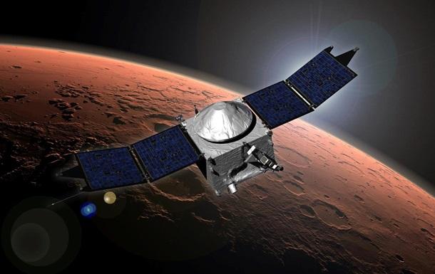 Спутник NASA вышел на орбиту Марса