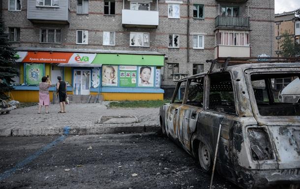 В Луганской области переполнены освобожденные города