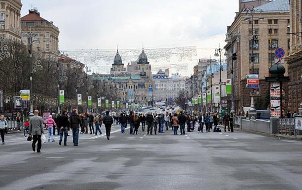 В Киеве  заминировали  целую улицу