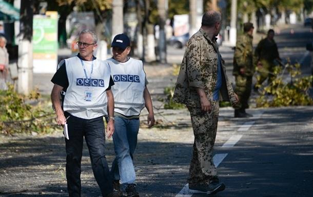 В Луганской области обстреляли представителей ОБСЕ – силовики