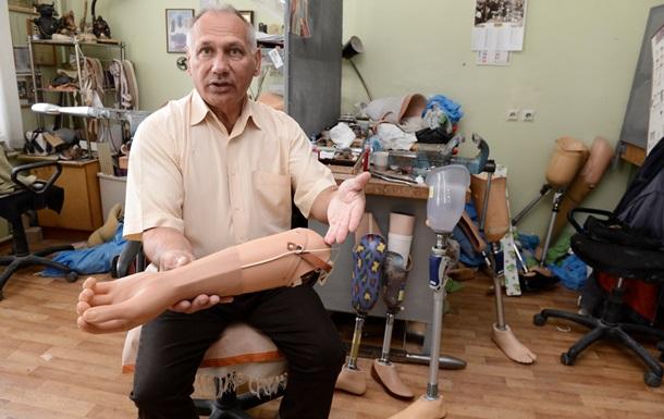 Корреспондент: В Украине остро стоит проблема протезирования раненых