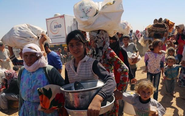 Сирийские курды начали возвращение на родину из Турции