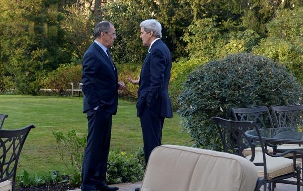Лавров и Керри в ходе встречи обсудили ситуацию в Украине