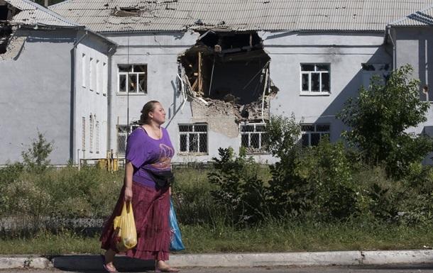 С раннего утра в Донецке снова слышны залпы тяжелых орудий