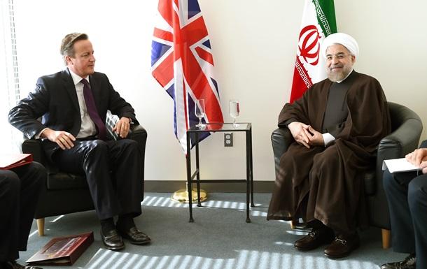 Главы Ирана и Британии встретились впервые за 35 лет