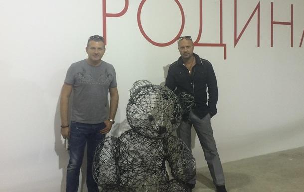 Дмитрий Ив презентовал свои шедевры в Мыстецьком Арсенале