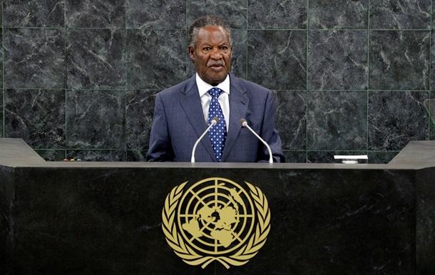 Президент Замбии не смог выступить на генассамблее ООН из-за госпитализации