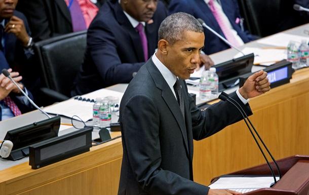 Обама считает, что мировое сообщество делает недостаточно для борьбы с вирусом Эбола