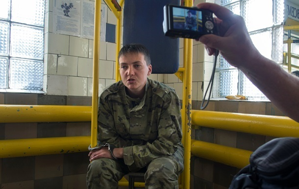 Савченко не довезли до суда, где рассматривают ее жалобу