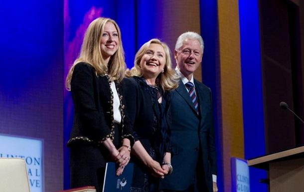 Билл Клинтон стал дедушкой