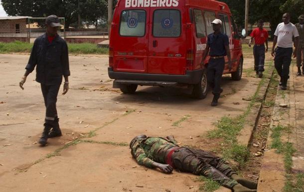 22 человека погибли при взрыве мины в Гвинее-Бисау