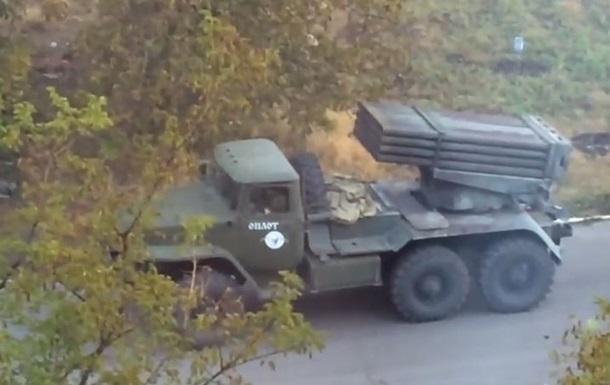 В Докучаевске Грады стреляют из жилых кварталов