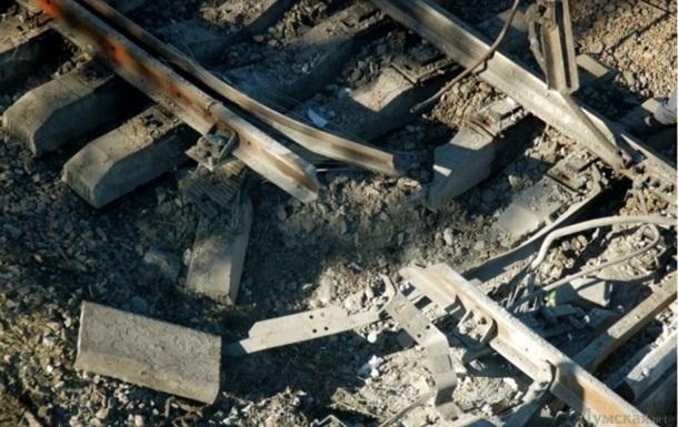 В Одесской области подорвали железнодорожные пути