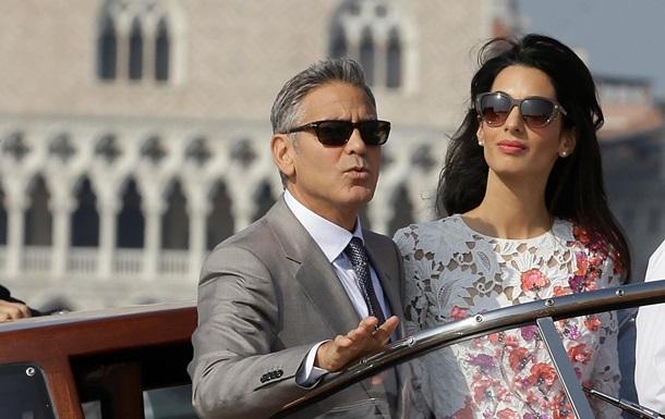 Джордж Клуни и Амаль Аламуддин вступили в брак