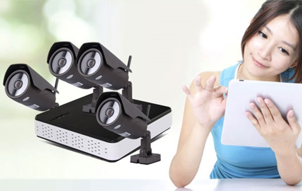 Прощай, аналого - системы 4CH PoE NVR комплект IP камеру для контроля вашего дом