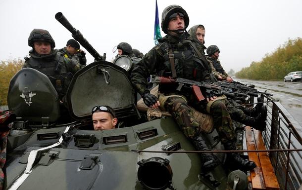 Силовиков обстреляли возле Никишино. Карта АТО на 30 сентября