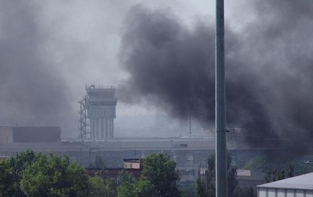 Возле донецкого аэропорта продолжаются бои