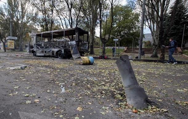 За день в Донецке погибли девять человек, еще 30 получили ранения