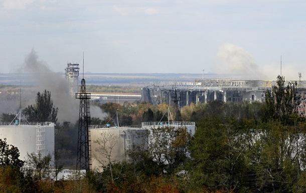Донецкий аэропорт остается под полным контролем сил АТО - СНБО