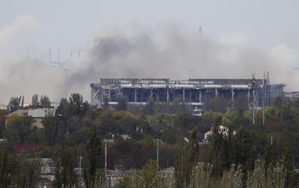Утром начался новый штурм аэропорта Донецка - штаб АТО