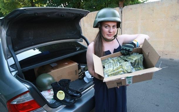 Министр обороны отдает пожертвования на армию Совету волонтеров
