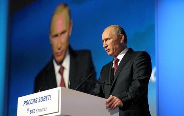Путин назвал санкции против России  полной дурью