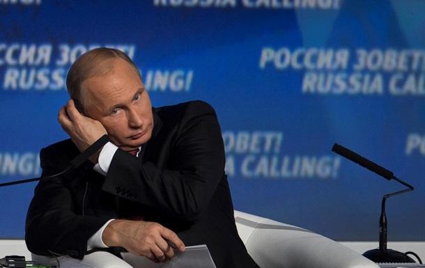 Путин связал инфляцию в России с ответными санкциями против Запада