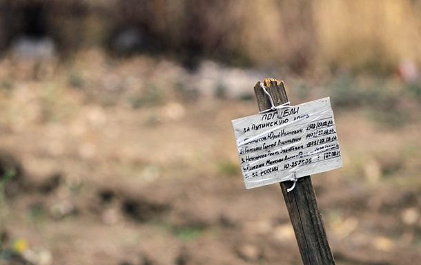 Ужасы войны. В Украине становится все больше безымянных могил