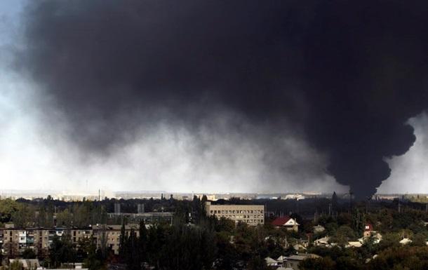 Силовиков обстреляли в районе Счастья, Новоорловки и Редкодуба