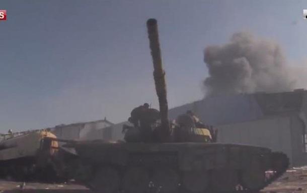 Обнародовано видео штурма донецкого аэропорта