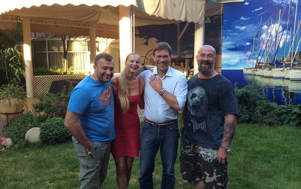 Актер Пореченков поддержал сепаратистов и сфотографировался с Царевым