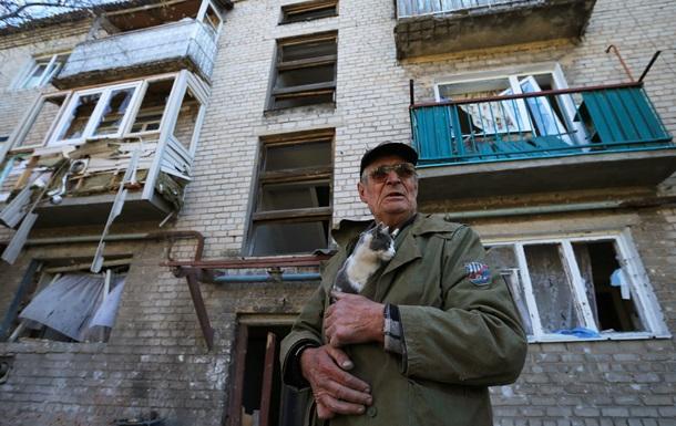 Ночь в Донецке прошла под звуки залпов