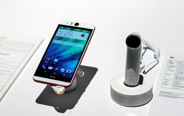 HTC представила смартфон с 13-мегапиксельной фронтальной камерой