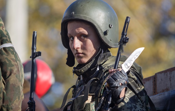 Опубликованы фото женщин-бойцов ДНР и ЛНР