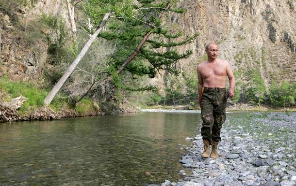 Путин в свой день рождения гулял по горам