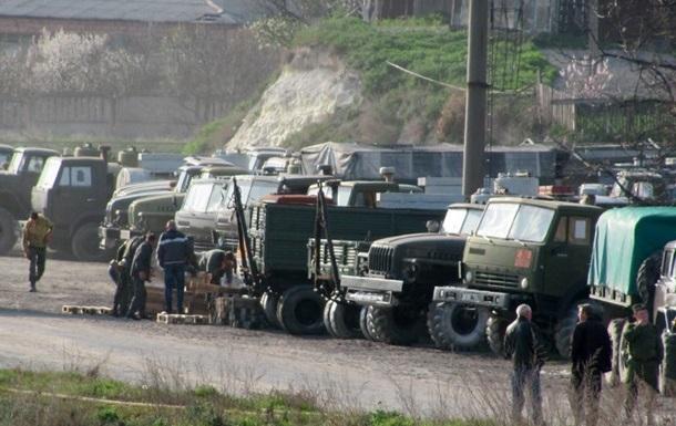 Из Крыма на Донбасс переброшена техника с украинской маркировкой - СНБО