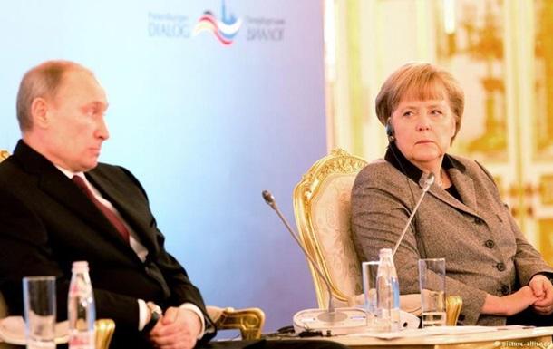 Германия не будет участвовать межправительственных консультациях с Россией