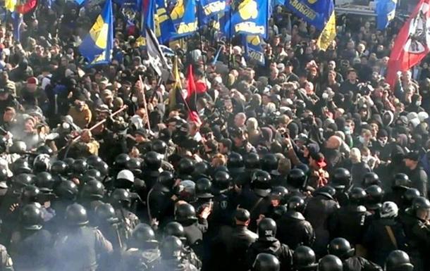 Свобода и Правый сектор открестились от провокаций возле Рады